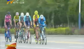 环青海湖国际公路自行车赛完成中卫绕圈赛 宁夏车手摔车-180802