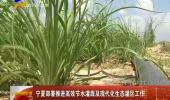 宁夏部署推进高效节水灌溉及现代化生态灌区工作-180816
