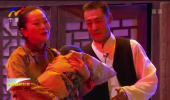 话剧《六盘鸿雁》在宁夏人民会堂首演-190112