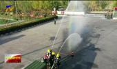 联播快讯丨吴忠消防举办消防队伍比武竞赛活动-20201025
