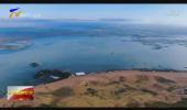 """宁夏沙湖:水质改善 生态恢复 成群红嘴鸥飞越千山万水""""沙湖之约"""" -20201011"""