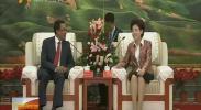 咸辉分别会见阿富汗第一副首席执行官和毛里塔尼亚国民议会第一副议长-2017年9月6日