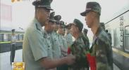 宁夏消防:首批60名山西籍入伍新兵光荣入营-2017年9月13日
