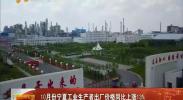 10月份宁夏工业生产者出厂价格同比上涨13%-2017年11月20日