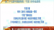 第二十七届中国新闻奖揭晓 宁夏3件作品获奖-2017年11月8日
