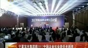 宁夏宝丰集团获2017中国企业社会责任卓越奖-2017年12月15日