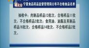 曝光台:宁夏食品药品监督管理局公布不合格食品名单-2017年12月27日