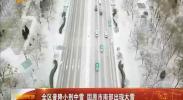 全区普降小到中雪 固原市南部出现大雪-2018年1月4日