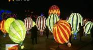 宁夏三沙源新春彩灯文化节昨晚开幕-2018年2月4日