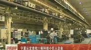 宁夏认定首批23家科技小巨人企业-2018年4月13日