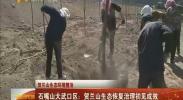 (贺兰山生态环境整治)石嘴山大武口区:贺兰山生态恢复治理初见成效-2018年5月9日