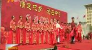 中宁县9对新人举办集体婚礼-2018年5月23日