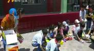 """2018""""情暖童心·关爱留守儿童""""公益夏令营活动启动-2018年7月6日"""