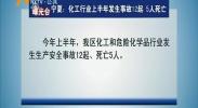 【曝光台】宁夏:化工行业上半年发生事故12起 5人死亡 -180713