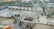 宁夏举行危险化学品泄漏爆炸事故联合应急演练-180811