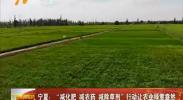 """宁夏:""""三减""""行动让农业绿意盎然-180813"""