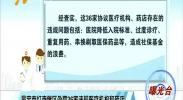 吴忠市红寺堡区出发36家违规医疗机构和药店-180903