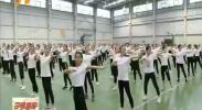 宁夏师范学院学生加紧排练 为自治区六十大庆增光添彩-180908