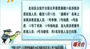 曝光台:宁夏公安厅公开悬赏缉捕的20名涉黑涉恶在逃人员已有6名落网-181011