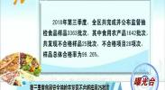 (曝光台)第三季度食品安全抽检共发现不合格样品25批次-181022