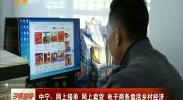中宁:网上接单 网上卖货 电子商务盘活乡村经济-181112