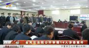 金凤区法院公开审理14人涉恶案件-181219