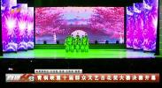 青铜峡第十届群众文艺百花奖大赛决赛开幕-190108