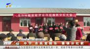 中宁:农民变股东 喜领分红款-190130