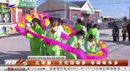红寺堡:文化活动多 冬闲欢乐多-190131