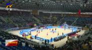 第二届全国青年运动会男子篮球U18俱乐部组预赛在中宁开赛-190319