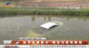 轿车池塘落水 蛛丝马迹现蹊跷-190514
