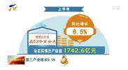 全区上半年经济实现平稳增长 第三产业贡献较大-190719