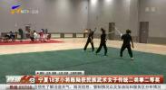宁夏18岁小将陈陆获民族武术女子传统二类拳二等奖-190911