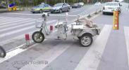 鸿胜出警:斑马线前不停车 半挂撞倒电动车-191023