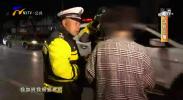 鸿胜出警:女子骑线驾驶 交通设施遭损坏-191102