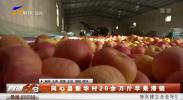 同心县新华村20余万斤苹果滞销 销售难题咋解决-191123