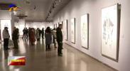 周一新水墨作品展在宁夏西部美术馆开展-200102