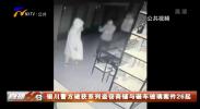 银川警方破获系列盗窃商铺与砸车玻璃案件26起-200317