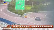 高速公路违法停车 交警视频巡逻快速处置-200708