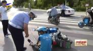 鸿胜出警:机动车行经路口未减速避让引发事故-20200724