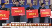 银川警方返还被骗资金263万 谨防四类诈骗-20210311