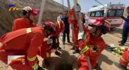 固原:一男子井下作业缺氧昏迷 消防紧急救援-20210510