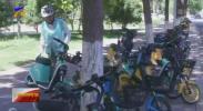 联播快讯 银川金凤区集中整治共享单车-20210605