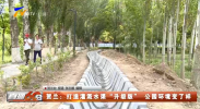 """贺兰:打造灌溉水渠""""升级版""""公园环境变了样-20210820"""