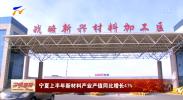 宁夏上半年新材料产业产值同比增长47%-20210810