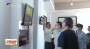 《情洒西海固》薛福利油画展在银川举办-20210914