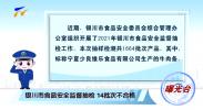 曝光台|食品安全监督抽检14批次不合格-20210913