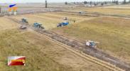贺兰县12.03万亩水稻陆续开镰收割-20211012