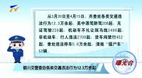 (曝光臺)銀川交警查處各類交通違法行為12.3萬余起-190417